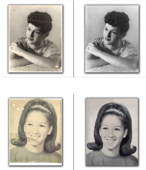 Santa Clarita Photo Restoration, Retouching