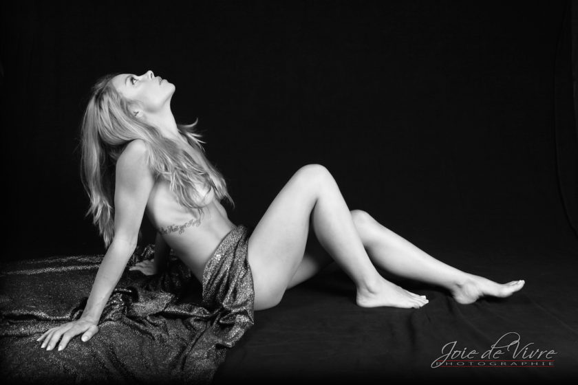 Boudoir Photography, black and white photography