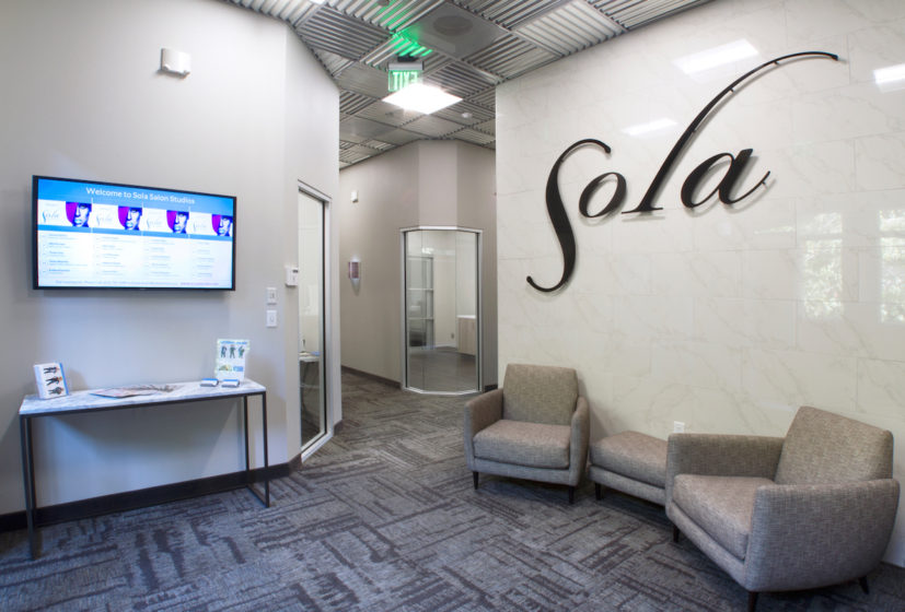 Business Photography, Santa Clarita, Sola Salon Studios