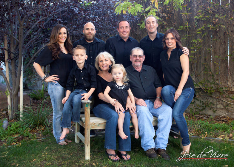Family reunion portraits, santa clarita