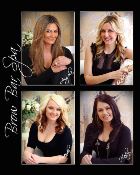 Joie de Vivre Photography, Business Portrait, Brow Bar Spa
