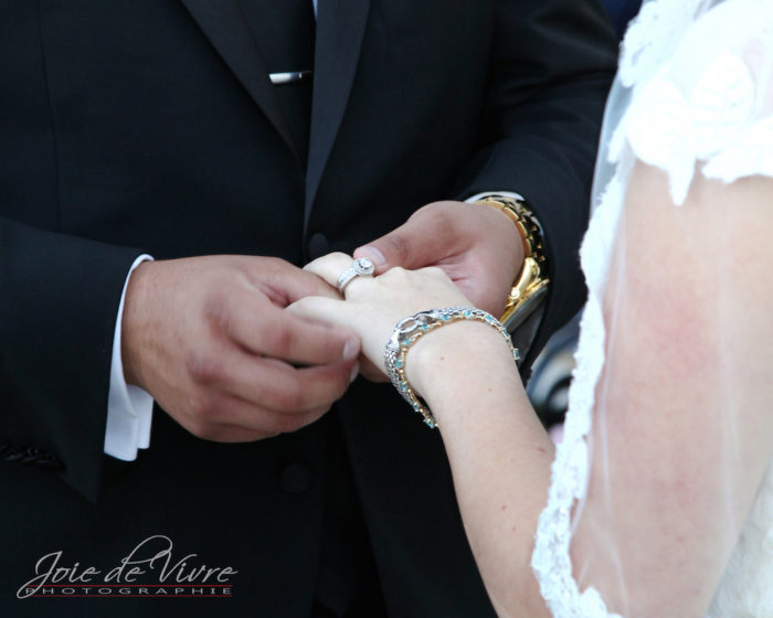 Wedding Photography, exchaging rings