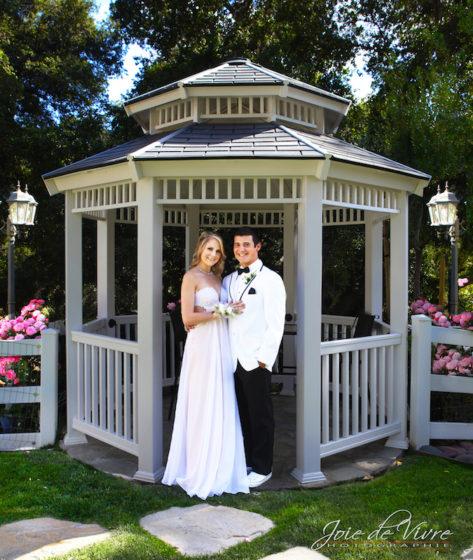 Wedding portrait, Los Angeles county