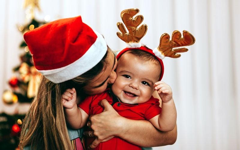 Baby first Holiday Season