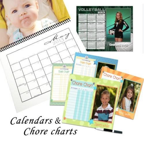 Calendar & Chore Charts
