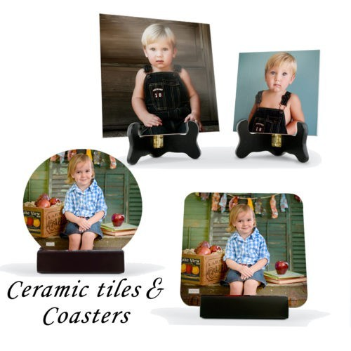 Custom Ceramic Tiles & Coasters