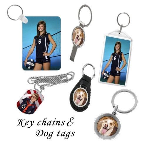 Custom Key Chains and Dog Tags