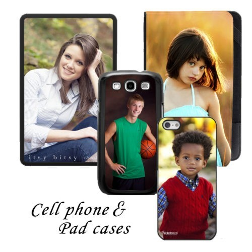 Custom Cell Phone & Pad Cases