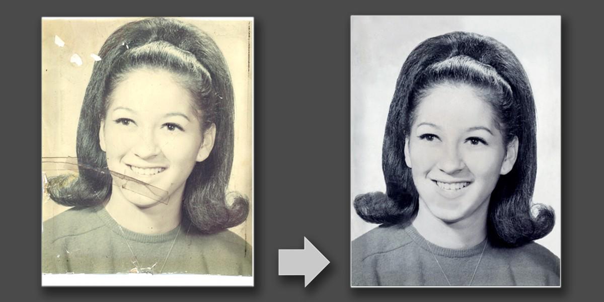 Saving precious memories with photo restoration